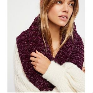 Free People Love Bug Chenille Cowl